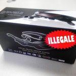 scatola illegale video-occhiali